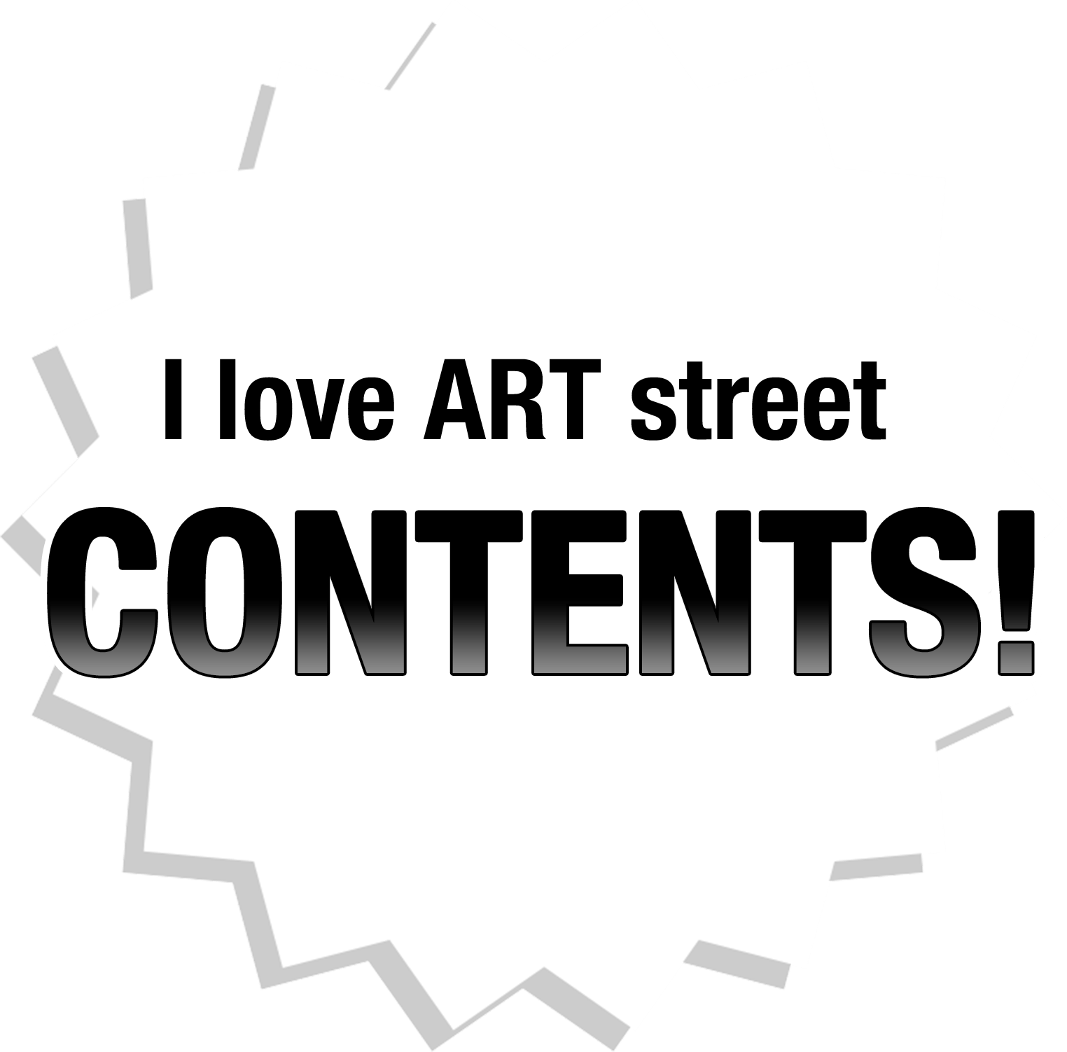 I love ART street contents!