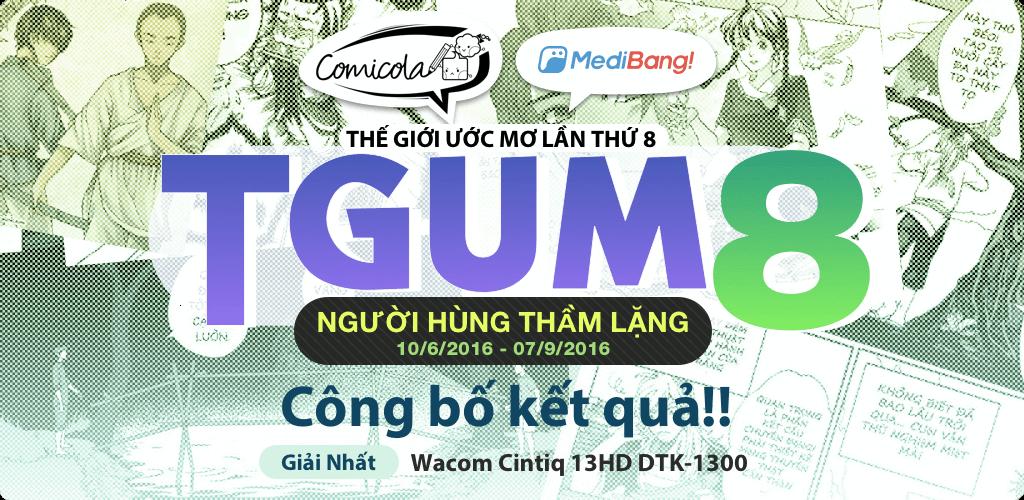 Cuộc thi truyện tranh lớn nhất Việt Nam - Thế Giới Ước Mơ LẦN THỨ 8 | Comicola & MediBang
